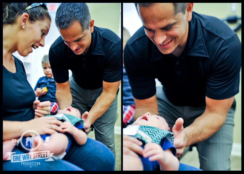 Asher - Baby Chiropractic Adjustment - Dr Scott Stuck
