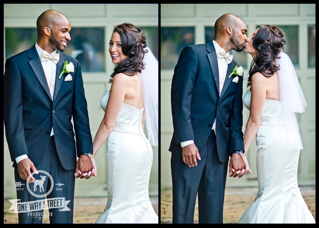 Chicago Wedding Photography - Bride & Groom Laughing