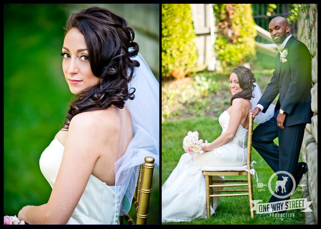 Chicago Wedding Photography - Groom and Bride Sitting