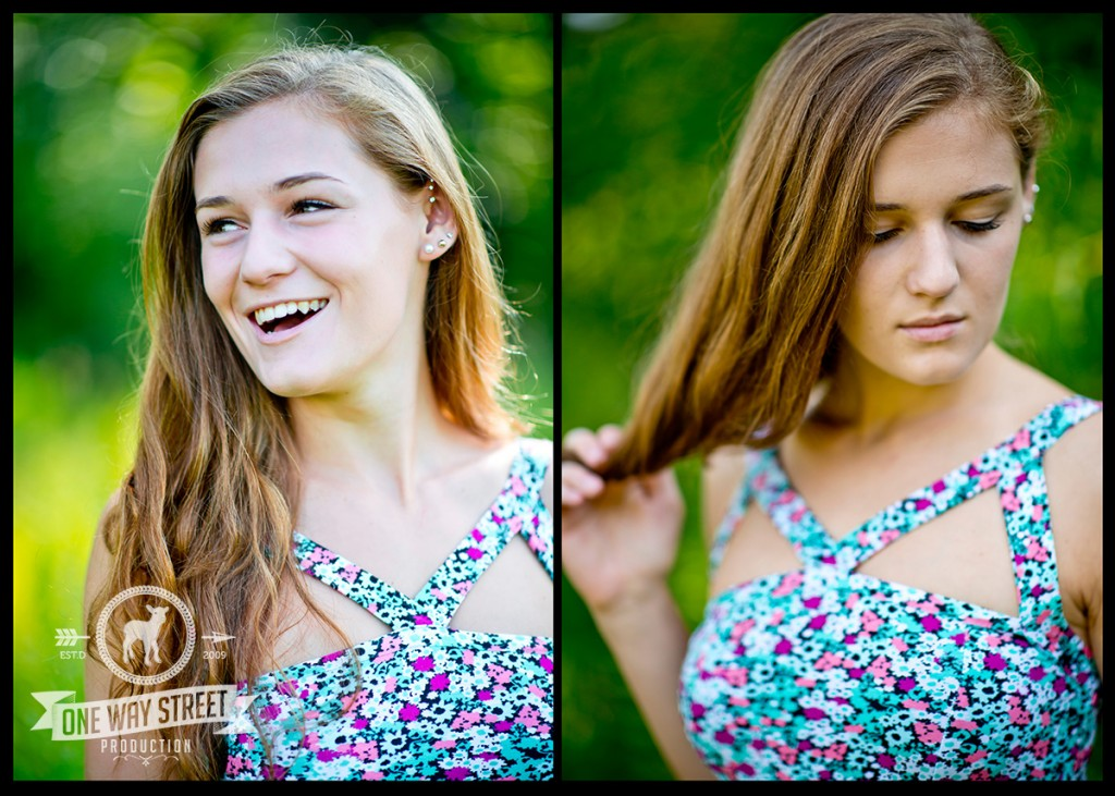 Chicago Senior Portraits - Laughing & Moody